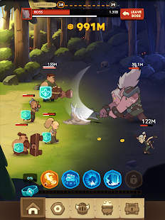 Almost a Hero - Idle RPG Clicker Screenshot