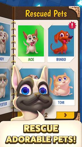 Solitaire Pets Adventure - Free Solitaire Fun Game  screenshots 4