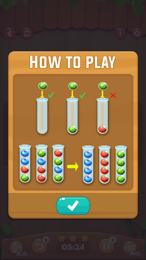 Ball Sort Puzzle: Fruit Color  screenshots 4
