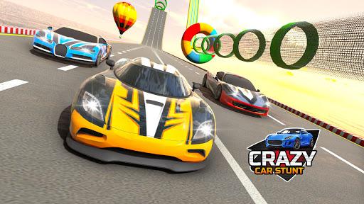 Crazy Car Stunts 3D : Mega Ramps Stunt Car Games 1.0.3 Screenshots 1