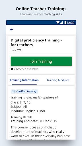 DIKSHA - Platform for School Education  screenshots 3