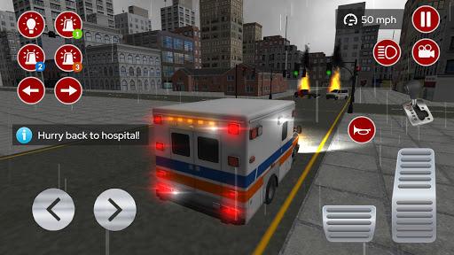 American Ambulance Emergency Simulator 2020 screenshots apkspray 10
