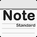 メモ帳 - Standard シンプルで標準的なメモ帳!