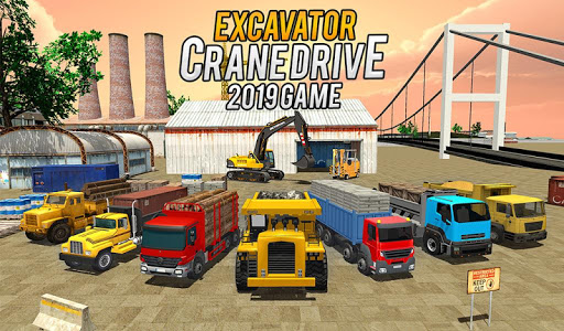 Heavy Excavator Crane Game Construction Sim 2019 apkdebit screenshots 2