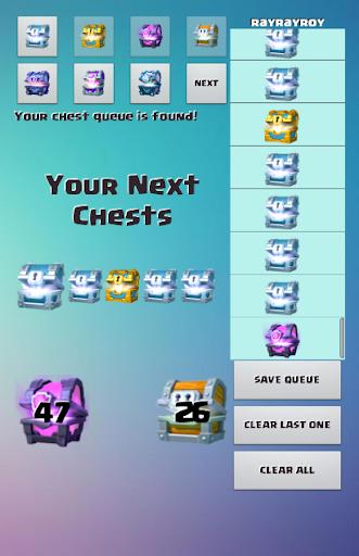 CR Chest Tracker - Calculator  screenshots 6