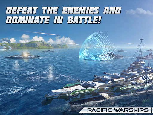 Pacific Warships: World of Naval PvP Warfare  screenshots 12