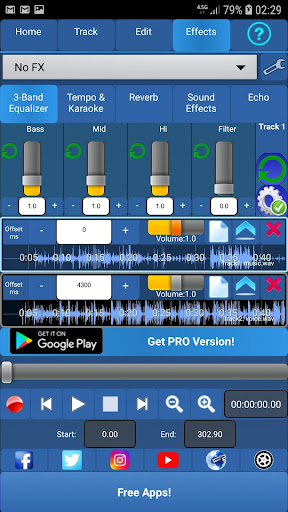 Audiosdroid Audio Studio DAW 1.4.2 screenshots 2