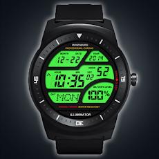 A41 WatchFace for LG G Watch Rのおすすめ画像1