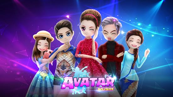 AVATAR MUSIK INDONESIA - Social Dancing Game 1.0.1 Screenshots 24