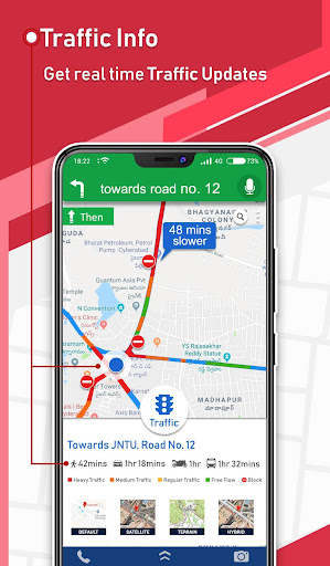 Offline GPS - Maps Navigation & Directions Free 1.15 Screenshots 3