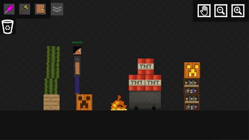 Stick Ragdoll Playground: Human Craft android2mod screenshots 5