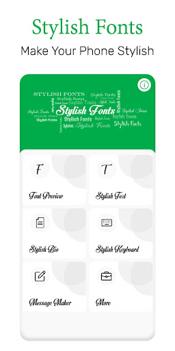 Stylish Fonts 1.44 screenshots 1
