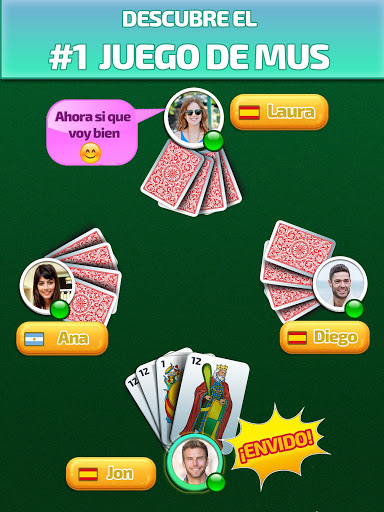 Mus Maestro - juego de mus / naipes /cartas online  screenshots 9