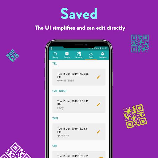 QR Code & Barcode: Scanner, Reader, Creator android2mod screenshots 6