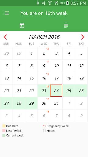 Pregnancy Week By Week 1.2.51 Screenshots 5