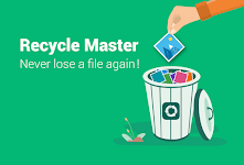 screenshot of RecycleMaster: RecycleBin, File Recovery, Undelete