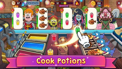 Potion Punch 2: Fun Magic Restaurant Cooking Games android2mod screenshots 1