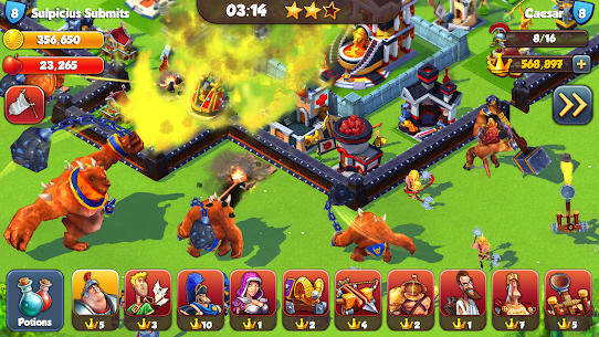 Total Conquest Mod Apk 2.1.5a Unlimited Money For Android 6