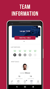 Barcelona Live: Unofficial App for football fans