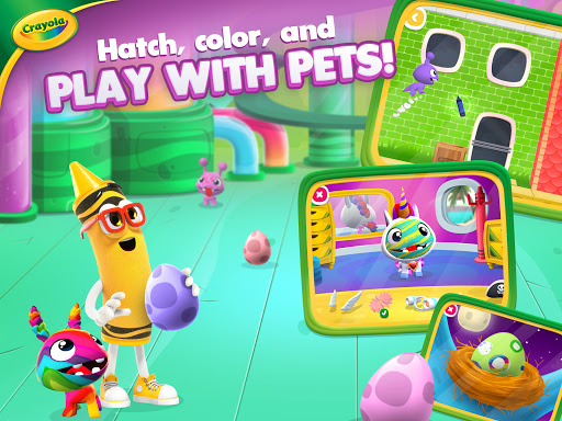 Crayola Create & Play: Coloring & Learning Games  screenshots 12