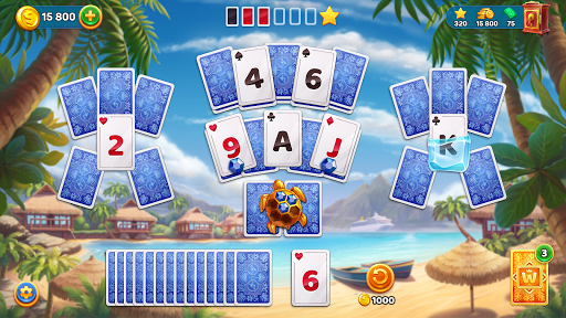 Solitaire Cruise: Classic Tripeaks Cards Games  screenshots 14
