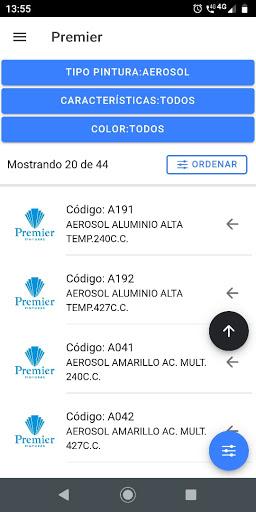 Premier Fabrica de Pinturas screenshot 2