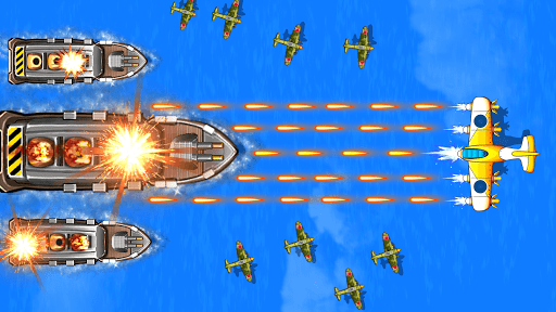 Strike Force- 1945 War 5.4 screenshots 7