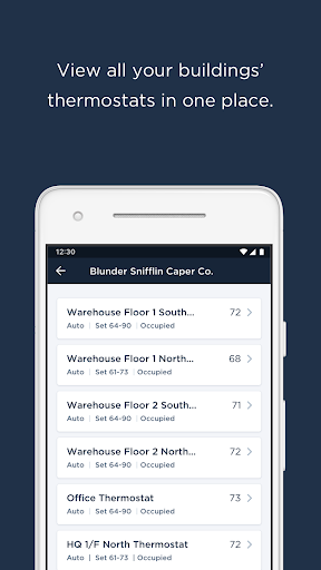 ecobee SmartBuildings 2.13.0 Screenshots 1