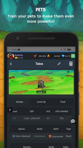 Mana Storia - Simple Browser MMORPG (Beta) 1.3 screenshots 6