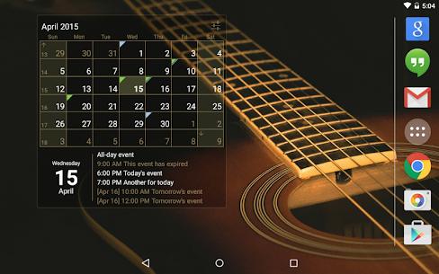 Calendar Widget Month + Agenda v1.32 [Unlocked] by IT Benefit 5
