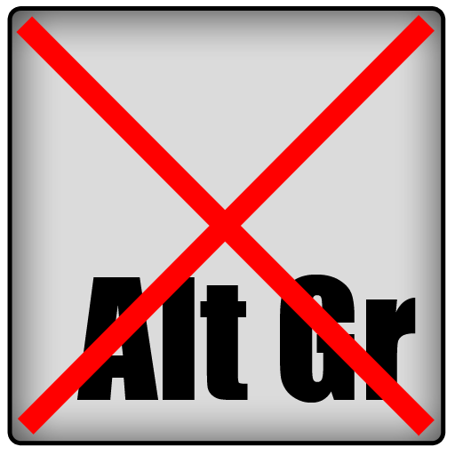 No right alt keyboard For PC Windows (7, 8, 10 and 10x) & Mac Computer