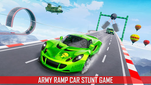 Mega Ramp Car Stunts 3D: Ramp Stunt Car Games apktram screenshots 1
