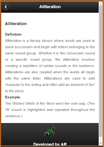 Literary Terms For PC Windows (7, 8, 10, 10X) & Mac Computer Image Number- 6