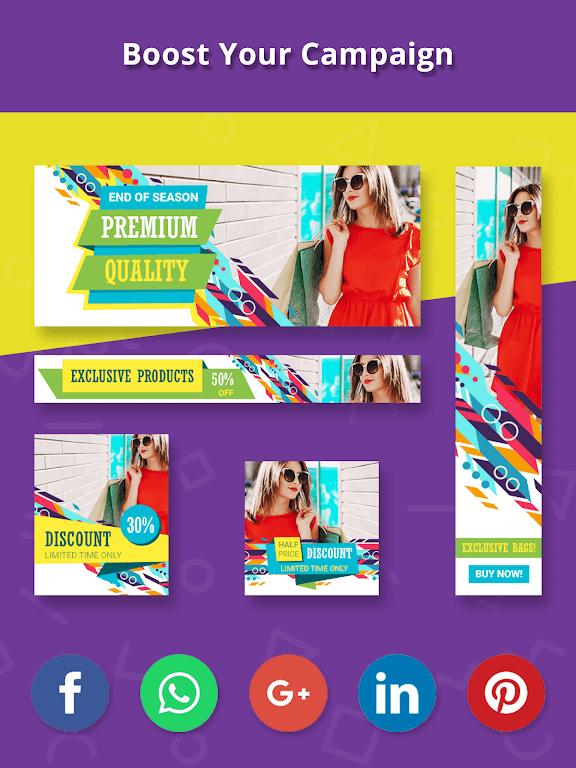 Banner Maker, Thumbnail Creator, Cover Photo Maker  poster 13