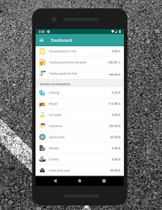 mFuel – car expenses 1.4 Android APK Mod 2