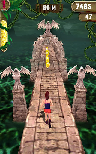 Scary Temple Final Run Lost Princess Running Game screenshots 1
