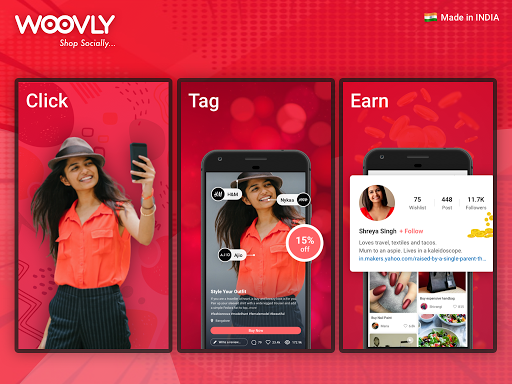 Woovly: Online Social Shopping App for Indiaud83cuddeeud83cuddf3 modavailable screenshots 9