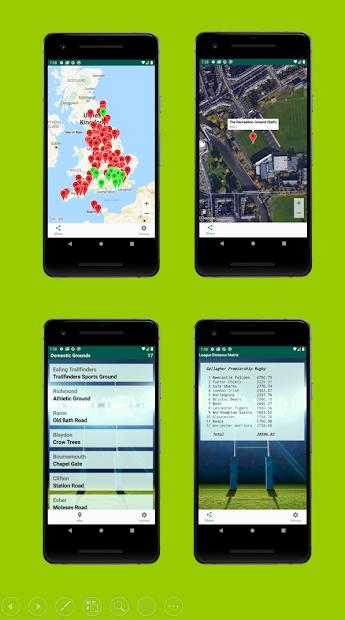 Rugby Tracker screenshot 1