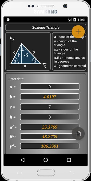 Geometryx: Geometry - Calculator  poster 3