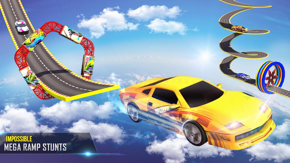 Mega Ramp Car Stunts Racing 2 screenshot 1