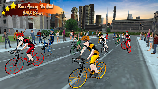 Real Bicycle Racing : BMX  Bicycle game 2021 apkslow screenshots 7
