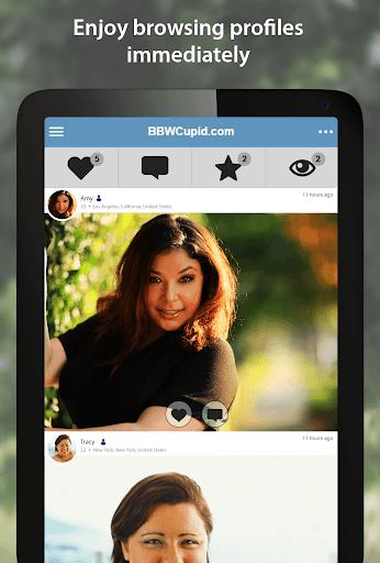BBWCupid - BBW Dating App 4.0.0.2751 Screenshots 6