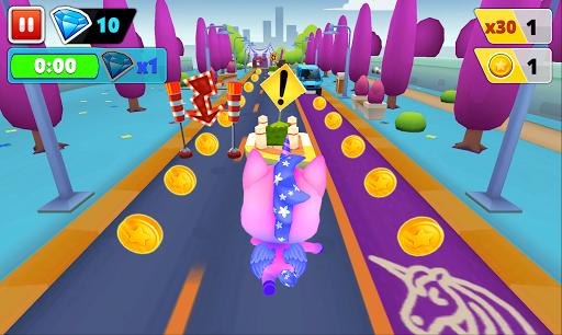 Unicorn Runner 2. Magical Running Adventure screenshots 6