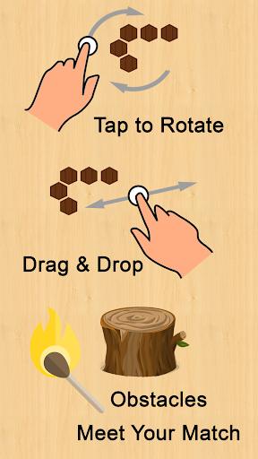 wooden hexa puzzle screenshot 2