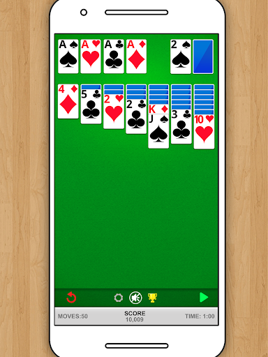 SOLITAIRE CLASSIC CARD GAME 1.5.15 screenshots 5