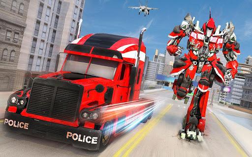 Indian Police Robot Transform Truck 1.14 screenshots 3