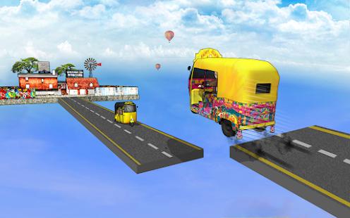 Bicycle Rickshaw Simulator 2019 : Taxi Game 4.0 Screenshots 11