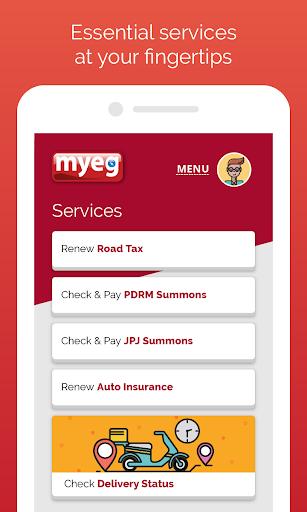 MyEG 2.12.3 screenshots 1