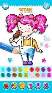 Glitter Ice Cream Coloring 5.4 Screenshots 5