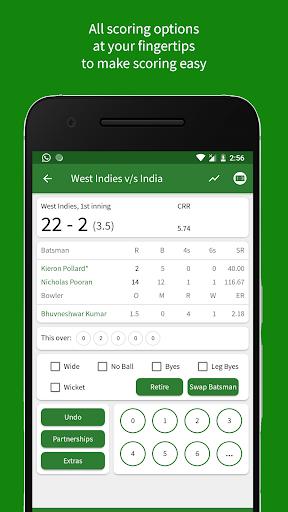 Cricket Scorer 2.9.0 Screenshots 2